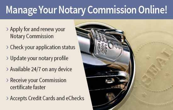 Secretary Of State Notary Division