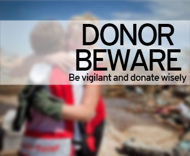 Donor beware, be vigilant and donate wisely
