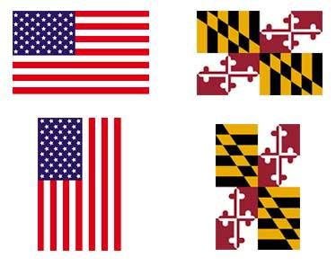 Maryland Flag Protocol Proper Display